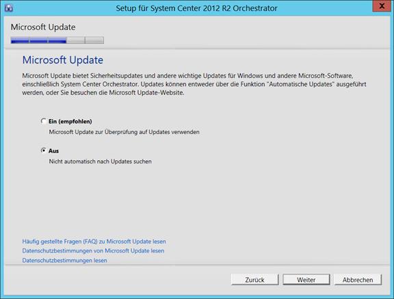 installations de Microsoft test manager 2012